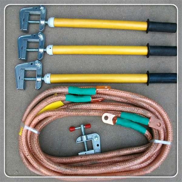 高壓接地線結構以及使用注意事項