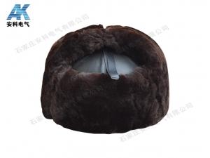 羊剪绒防寒安全帽