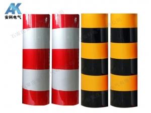 電線桿紅白反光膜 黑黃反光警示貼