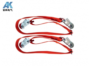 經典紅色雙鉤帶