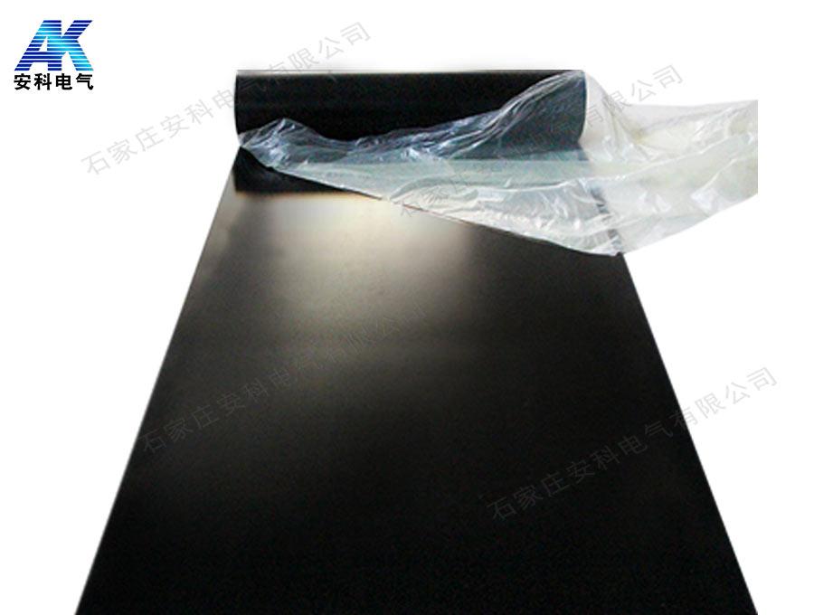 3mm黑色绝缘胶板 平面绝缘胶垫