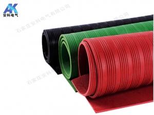 3mm绿色绝缘胶板 防滑绝缘胶垫