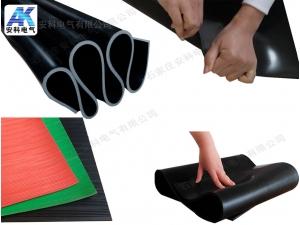 3mm防滑绝缘胶板 |红色5kV绝缘胶垫