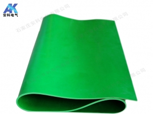 绿色防滑绝缘胶板 35kV绝缘胶板 配电室绝缘地胶