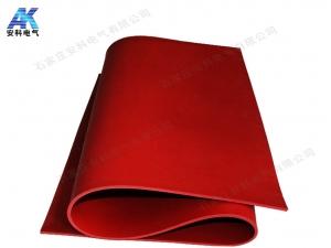 红色绝缘橡胶板 35kV绝缘胶板