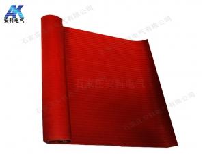 红色配电室绝缘胶板 防滑绝缘胶板 12mm绝缘橡胶板