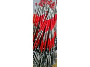 安科电气与陕西电力建设有限公司合作伞式支架